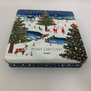 187 クリスマス 角缶