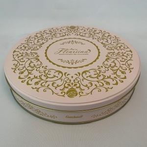 189 バレンタインチョコレート 丸缶